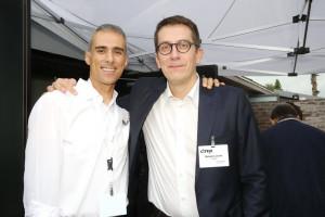 """בתמונה מימין לשמאל: בנג'מין ג'וליבט – Citrix Country Manager, South Europe, ארז גולדשטיין - מנכ""""ל אינטגריטי תוכנה"""