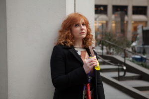 "DIFFICULT PEOPLE -- ""Unplugged"" Episode 201 -- Pictured: Julie Klausner as Julie Kessler -- (Photo by: Linda Kallerus/Universal Cable Productions)"