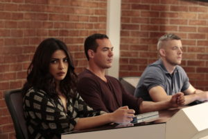 "QUANTICO - ""Kudove"" - When season two begins, Alex finds herself at ""The Farm,"" the CIA's mysterious training facility. As Alex navigates the dark world of espionage, far different and more dangerous than what she's learned before, she's pulled into the center of a deadly conspiracy that not only threatens the lives of this country's citizens, but the lives of countless others across the globe. This conspiracy calls everyone around her into question, be it new faces from the CIA or old ones from the Bureau. Prepare yourselves for another thrilling and heart-stopping adventure loaded with surprises you won't see coming, on ""Quantico,"" airing SUNDAY, SEPTEMBER 25 (10:00-11:00 p.m. EDT), on the ABC Television Network. (ABC/Giovanni Rufino) PRIYANKA CHOPRA, RUSSELL TOVEY"