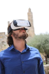 sm.Virtual Reality at the Tower of David. Credit Ricky Rachman